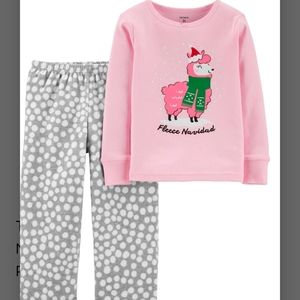 *NEW*CARTER'S GIRLS SIZE 6   2 PC CHRISTMA…